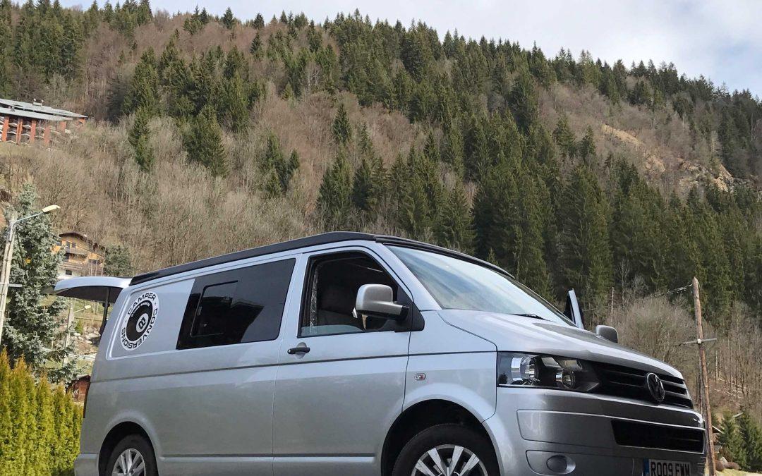 The 8 Ball Hire Camper Van